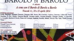 A cena con il Barolo di Barolo a Barolo